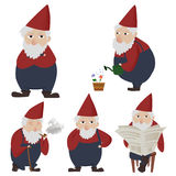Gnomes de jardinage Images stock