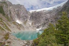 Queulat National Park, Chile. Gnomes lagoon on the Bosque Encantado trail of Queulat National Park, Chile Stock Photo