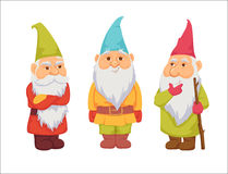 Gnomes vector set Stock Image