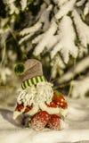 Gnomo de la Navidad Imagenes de archivo