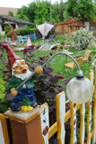 Gnomo del giardino Fotografie Stock