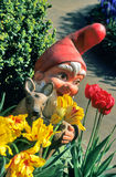 Gnomo del jardín Foto de archivo libre de regalías