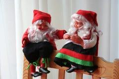 Gnomos de la Navidad Foto de archivo