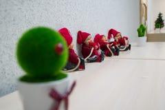 Gnomos do Natal Imagens de Stock