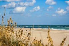 Gnuśny Plażowy dzień Zdjęcie Stock