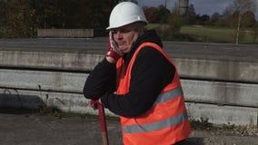 Gnuśny pracownika ziewanie zbiory wideo