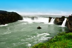 Goðafoss in Iceland Royalty Free Stock Photography