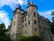 Gołuchów Castle, Poland. Castle in Gołuchów, Greater Poland Voivodeship, Poland Royalty Free Stock Photography