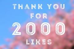 2000 goûts Photographie stock libre de droits