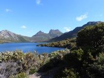 Gołąbka jezioro, Tasmania Zdjęcia Stock