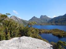 Gołąbka jezioro, Tasmania Obraz Royalty Free