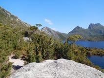 Gołąbka jezioro, Tasmania Fotografia Royalty Free
