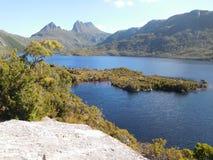 Gołąbka jezioro, Tasmania Obrazy Stock