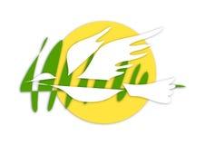 gołąbka logo royalty ilustracja