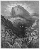 Gołąbka wysyłająca naprzód od Arki