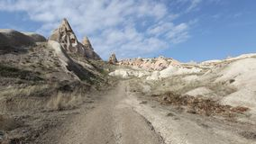 Gołębi Dolinny Cappadocia Obraz Stock