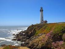 gołębi latarnia morska punkt Fotografia Stock