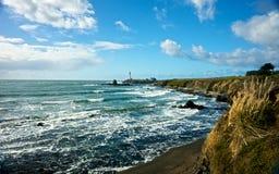 gołębi latarnia morska punkt Obraz Stock
