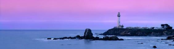 gołębi latarnia morska punkt Zdjęcie Stock