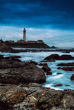 Gołębia punkt latarnia morska Fotografia Stock
