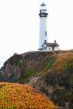 Gołębia punkt latarnia morska Fotografia Royalty Free