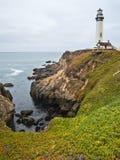 Gołębia punkt latarnia morska Obrazy Royalty Free