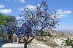 Gołębie dolinni w Cappadocia regionie Obraz Stock