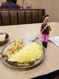 Gość restauracji data z Barbie w Carlisle Pennsylwania zdjęcie royalty free