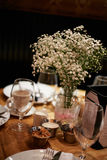 Gość restauracji w restauraci obrazy royalty free