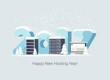 Gościć nowy rok kartę Fotografia Stock