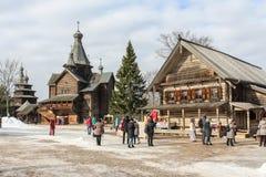 Goście świąteczny karnawał Zdjęcia Stock