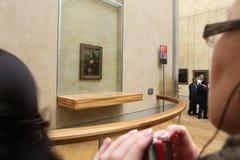 Goście biorą fotografię Leonardo DaVinci Obraz Stock