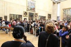 Goście biorą fotografię Leonardo DaVinci Fotografia Royalty Free