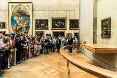 Goście biorą fotografię Leonardo DaVinci ` s Fotografia Stock