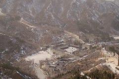 Goście Centrum Wzdłuż wielkiego muru Chiny Na zewnątrz Pekin Zdjęcie Royalty Free