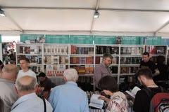 Goście targi książki plac czerwony Fotografia Stock