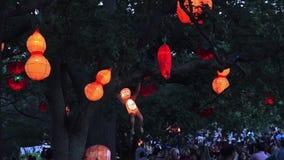 Goście w Auckland Latarniowym festiwalu zdjęcie wideo