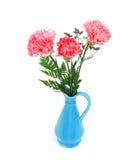 Goździka trzy kwiatu obrazy stock