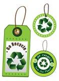 Go回收标签 免版税库存图片