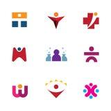 Go исследует заботу помощи возможностей мира для других значок логотипа бесплатная иллюстрация