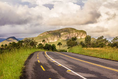 Free GO 239. Mountain Road Landscape In Chapada Dos Veadeiros Stock Image - 91463821