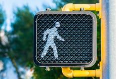 Go ahead and walk! Stock Photo