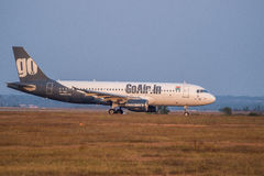 Go Air Airbus 320-Stock Image Royalty Free Stock Images