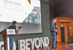 Go Beyond Payoneer Forum in Khreschatyk Hotel. Kyiv, Ukraine