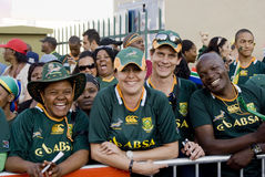 Go Bokke - Mass farewell for Boks Stock Photos