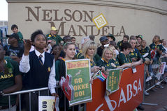 Go Bokke - Mass farewell for Boks Stock Images
