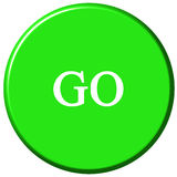 Go Button Royalty Free Stock Photos