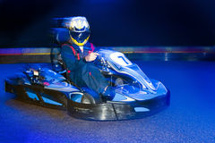Go-Cart driver Royalty Free Stock Photography