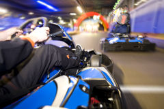 Free Go-Cart Finish Line Stock Photography - 16764062