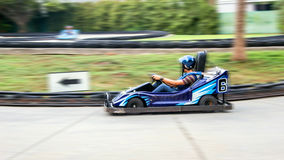 Go cart game outdoor. Moving short of go cart game outdoor Royalty Free Stock Photo